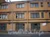 Пироговская наб., д. 11. Производственное здание. Фрагмент фасада. Фото июль 2009 г.