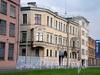 Пироговская наб., д. 13 (центральная часть). Общий вид. Фото июль 2009 г.