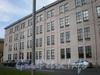 Пироговская наб., д. 15, лит. А. Фрагмент фасада производственного здания. Фото июль 2009 г.