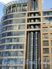 Песочная наб., д. 12. Жилой комплекс «Новая Звезда». Фрагмент фасада. Фото сентябрь 2010 г.