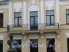 Песочная наб., д. 10. Особняк М. А. Новинской и B. А. Засецкой. Балкон садового фасада. Фото сентябрь 2010 г.