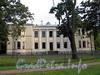 Песочная наб., д. 10. Особняк М. А. Новинской и B. А. Засецкой. Общий вид с набережной. Фото сентябрь 2010 г.