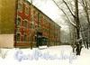 Песочная наб., д. 14. Здание Санкт-Петербургского приборостроительного техникума. Фото 1999 г. (с сайта Виртуального музея СПбГУ ИТМО)