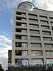 Песочная наб., д. 18. Элитный жилой комплекс. Фрагмент фасада. Фото сентябрь 2010 г.