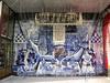 Петровская наб., д. 4. Роспись по кафелю. Фото октябрь 2010 г.