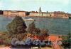 Вид на Университетскую набережную. Здания Кунсткамеры и Академии Наук. Фото И. Б. Голанд, 1959 г. (набор открыток)