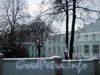 Наб. реки Крестовки, д. 2. Южный фасад. Фото декабрь 2009 г.