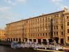 Наб. реки Мойки, д. 64 / пер. Гривцова, д. 1. Фасад по набережной. Фото август 2010 г.