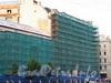 Наб. реки Мойки, д. 73 / Гороховая ул., д. 15. Реконструкция. Фасад по набережной. Фото август 2010 г.