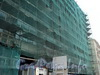 Наб. реки Мойки, д. 73 / Гороховая ул., д. 15. Реконструкция. Фрагмент фасада по набережной. Фото август 2010 г.