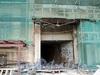 Наб. реки Мойки, д. 73. Реконструкция. Въездная арка. Фото август 2010 г.