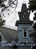 Наб. Малой Невки, д. 12, лит. А. Башня особняка. Фото сентябрь 2010 г.