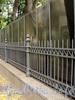 Наб. Малой Невки, д. 12, лит. А. Фрагмент ограды. Фото сентябрь 2010 г.