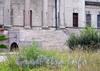 Наб. Малой Невки, д. 16. Северный фасад особняка. Широкая парадная лестница. Фото сентябрь 2010 г.