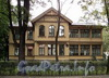 Наб. Малой Невки, д. 33, лит. А. Фасад здания. Фото сентябрь 2010 г.