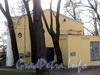 Наб. Малой Невки, д. 7. Вид от Каменноостровского проспекта. Фото апрель 2011 г.