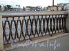 Фрагмент ограждения Аптекарской набережной. Фото сентябрь 2011 г.