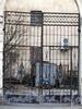Наб. Робеспьера, д. 24. Ворота. Фото ноябрь 2011 г.