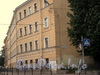 Наб. Обводного канала, д. 58/Боровая ул., д. 42. Фрагмент фасада здания. Фото 2008 г.