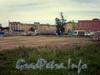 Наб. Обводного канала, д. 60 лит А. Место снесенного здания заводоуправления. Фото 2008 г.