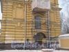 Наб. реки Монастырки, дом 1, лит. Ж. Здание ризницы и древлехранилища. Фото февраль 2012 г. со стороны прохода к Никольскому кладбищу.