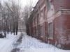 Наб. Обводного канала, дом 3. Проезд от Никольского кладбища мимо здания склада к наб. Обводного канала. Фото февраль 2012 г.