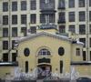 Общий вид с противоположной стороны наб. Обводного канала. Фото февраль 2012 г.