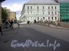 Вид на Мошков переулок с Большого Конюшенного моста