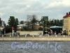Выборгская наб., д. 55. Въезд на территорию завода металлопластиковых конструкций «Оккервиль». Вид с Аптекарской набережной. Фото сентябрь 2011 г.