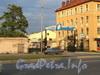 Выборгская наб., д. 55. Въезд на территорию завода металлопластиковых конструкций «Оккервиль». Фото сентябрь 2011 г.