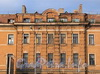 Выборгская наб., д. 59, корп. 1. Фрагмент фасада. Фото сентябрь 2011 г.