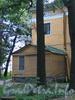 Выборгская наб., д. 63. Садовый фасад. Пристройка. Фото сентябрь 2011 г.