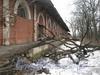 Наб. Обводного канала, дом 118. Склады Варшавского вокзала. Фото март 2012 г.