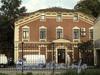 Выборгская наб., д. 63 А. Торцевой фасад. Вид с набережной Черной речки. Фото сентябрь 2011 г.