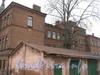 Наб. Обводного канала, дом 116. Общий вид с Варшавского проезда и со стороны дома 116 корпус 3. Фото март 2012 г.