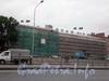 Синопская наб., д. 30 (правый флигель), д. 32, ремонт фасадов зданий. Фото август 2008 г.