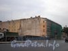 Синопская наб., д. 60-62, площадка под строительство нового здания. Фото август 2008 г.