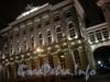 Ночное оформление здания Малого Эрмитажа со стороны Дворцовой набережной. 2008 г.
