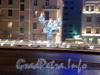 Новогоднее оформление Пироговской набережной.  Фото декабрь 2008 г.