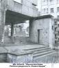 Наб. реки Карповки, д. 13.жилой дом Ленсовета, фрагмент фасада здания.