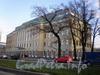 Пироговская наб., д. 9. Здание «Австрийского бизнес-центра». Общий вид.  Фото ноябрь 2009 г.