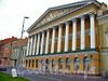 Английская наб., д. 44. Государственный музей истории Ленинграда. Фасад здания. Фото 2004 г.