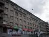 Наб. Обводного кан., д. 161. Фрагмент фасада здания по Измайловскому пр.у. Сентябрь 2008 г.