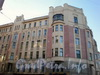 Наб. реки Фонтанки, д. 88/Бородинская ул., д. 1. Фасад здания по Бородинской ул. Ноябрь 2008 г.