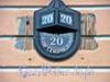 Наб. канала Грибоедова, д. 20. Номерной знак.