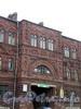 Наб. реки Волковки, д. 3. Здания бывшей Волковской богадельни. Фрагмент фасада. Фото июль 2009 г.