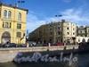 Дома 26 и 28 по набережной канала Грибоедова. Вид на улицу Ломоносова. Фото июль 2009 г.