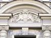 Наб. канала Грибоедова, д. 27. Бывший доходный дом. Художественное оформление фасада здания. Фото июль 2009 г.