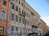 Наб. канала Грибоедова, д. 27. Бывший доходный дом. Фасад здания. Фото июль 2009 г.