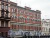 Наб. канала Грибоедова, д. 33. Дом Казанского благотворительного общества. Фасад здания. Фото апрель 2009 г.